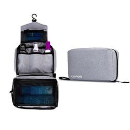 Kopack Hanging Toiletry Bag Women and Mens Travel Toiletry B