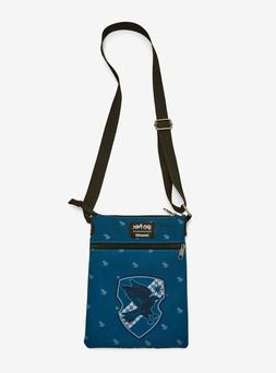 Loungefly Harry Potter Ravenclaw Blue Crossbody Passport Bag