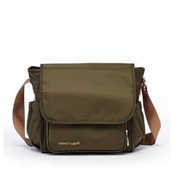 HC Army Green Diaper Bag Crossbody Purse Gender Neutral Diap