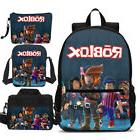 Roblox Student School Backpack Insulated Lunch Bag Pencil Ca