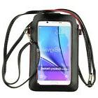 "6.75"" Crossbody Bag Phone Pouch for Samsung Galaxy S9+ /iPho"