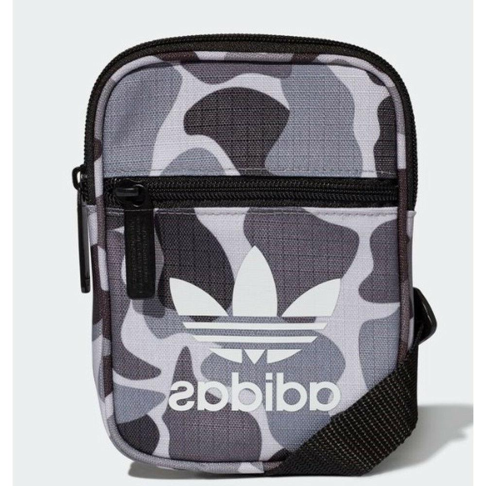 Adidas Originals Camo Festival Crossbody Unisex Bag, Grey