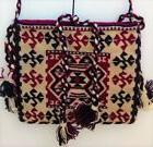 Crossbody Bag Unique Handmade of Wool in Andes - Medium size