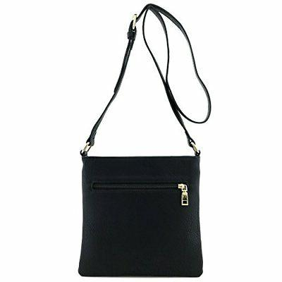 Classic Medium-Sized, Faux Leather Solid