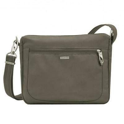 Travelon Anti-theft Classic Small E/W Crossbody Bag Nutmeg 4