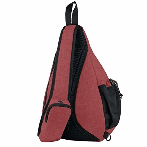Versatile Canvas Sling Travel Backpack Over by NeatPack