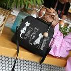 Animal Messenger Bag Women Handbag Cat Rabbit Pattern Should