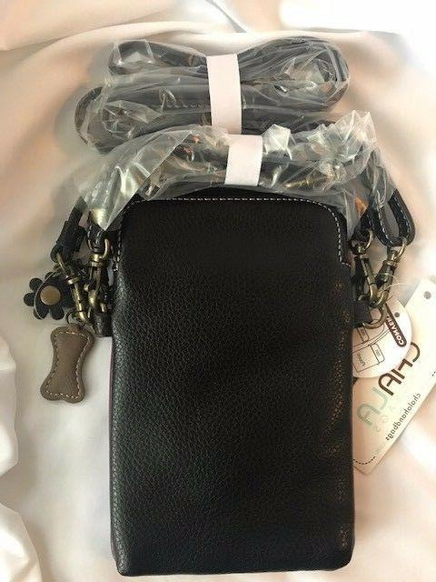 NEW CHALA DOG CELL PHONE CROSSBODY