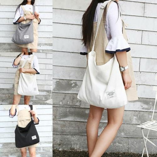 Canvas Tote with Zipper Casual