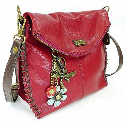 Chala with Zipper and Metal - Burgundy -