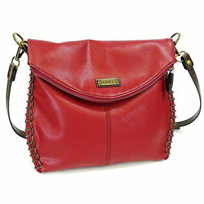 Chala with Zipper and Metal Burgundy