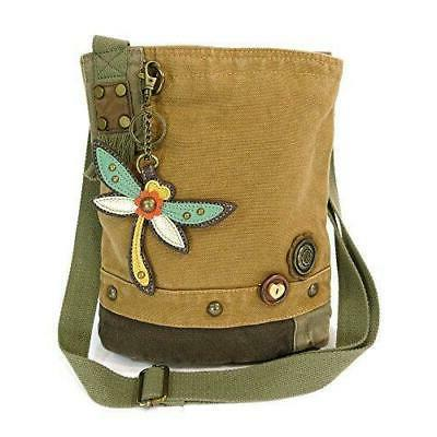 Chala Cross-Body Handbag Canvas Messenger