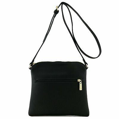 Chevron Quilted Bag Black