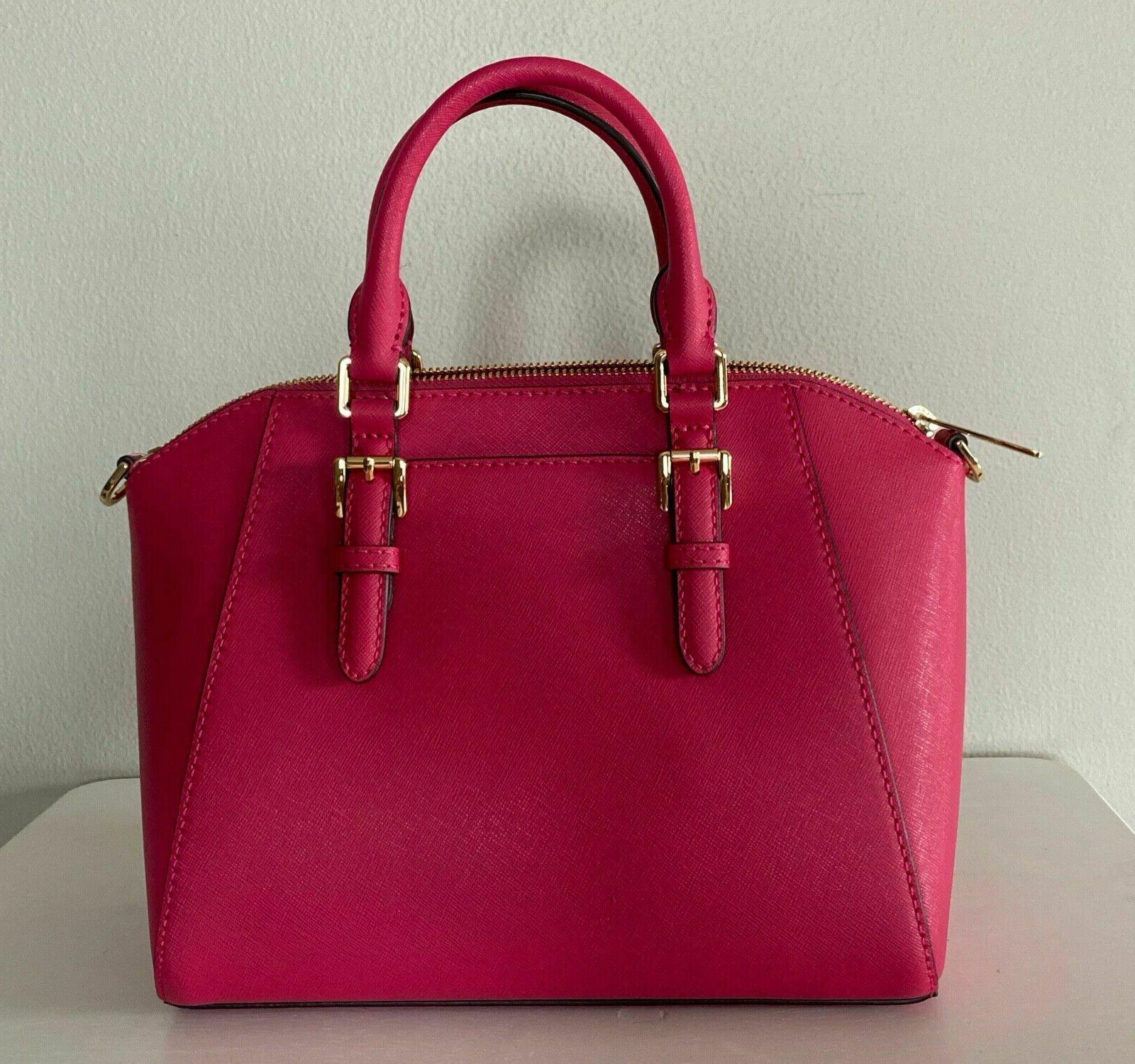 Michael Kors Pink Satchel Bag