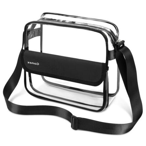 clear crossbody messenger bag nfl stadium approved