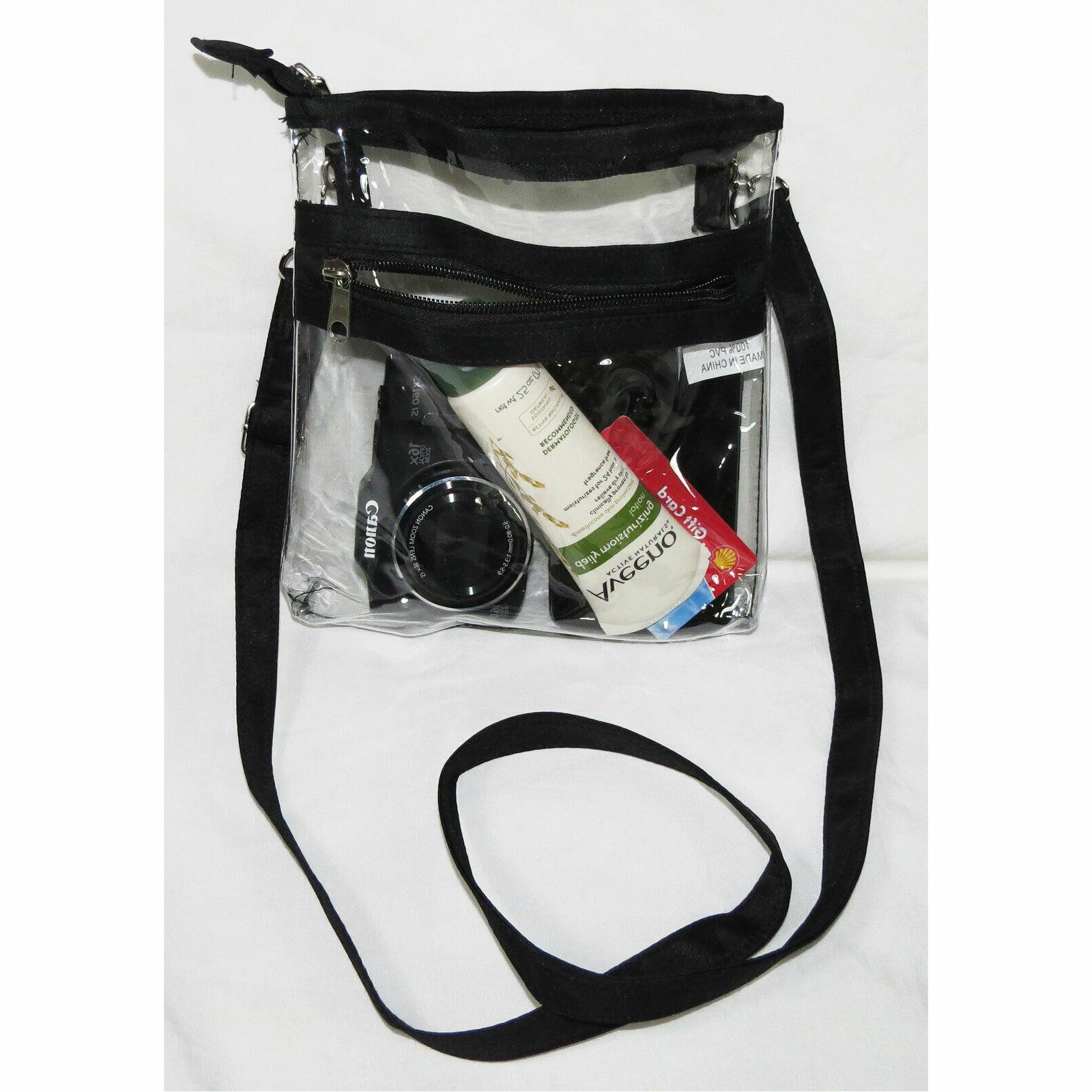 Clear Crossbody Shoulder PVC Purse Tote
