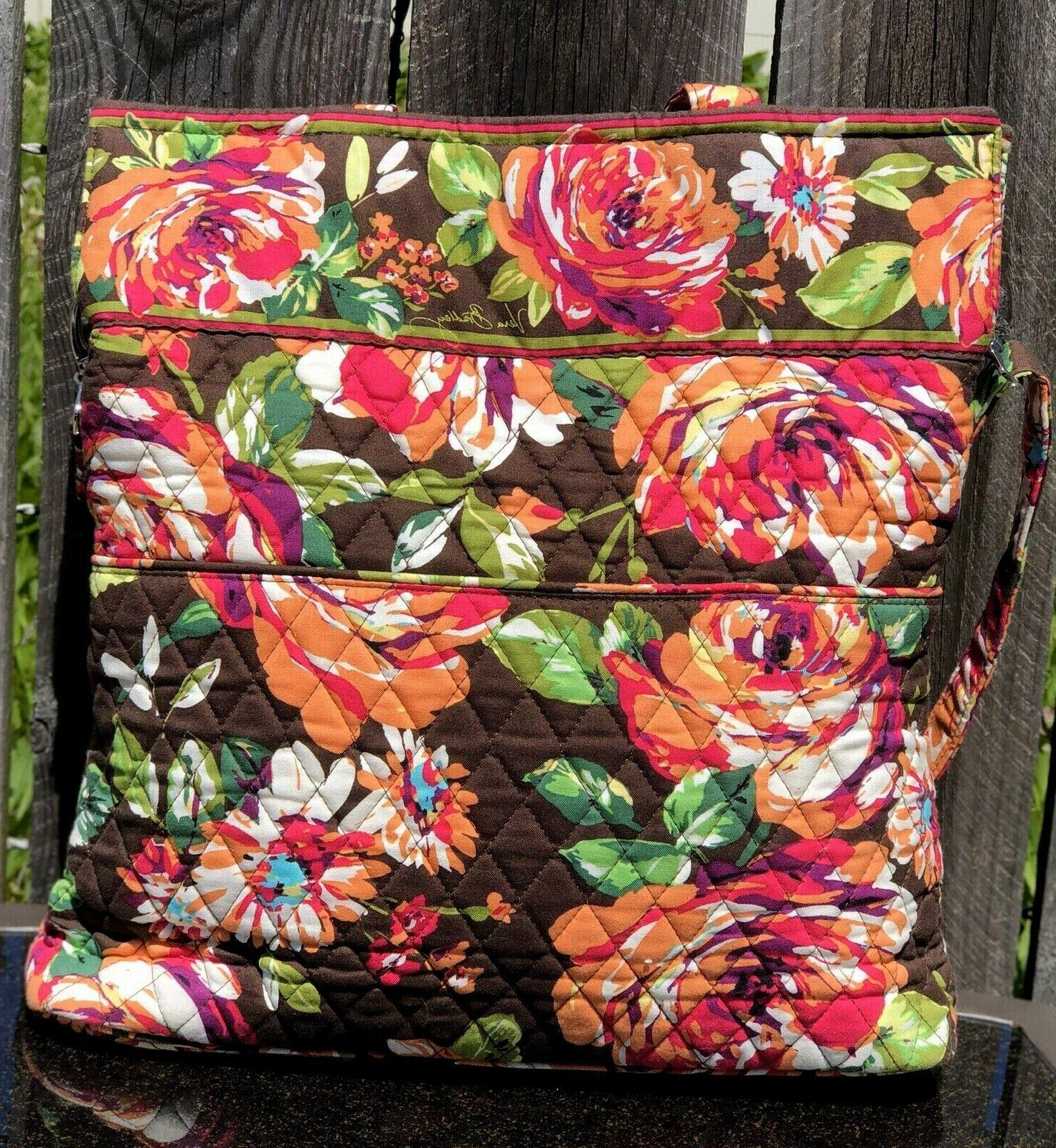 Vera Bradley English Convertible 15 x 14 x 3.5, 9.5 NWT