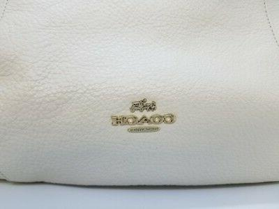 Coach F34511 Isabelle Leather Crossbody Bag
