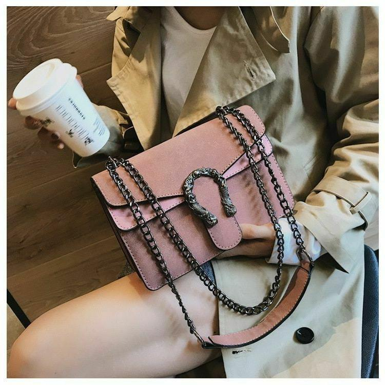 Female Crossbody Bags Leather Famous 2019 Bag