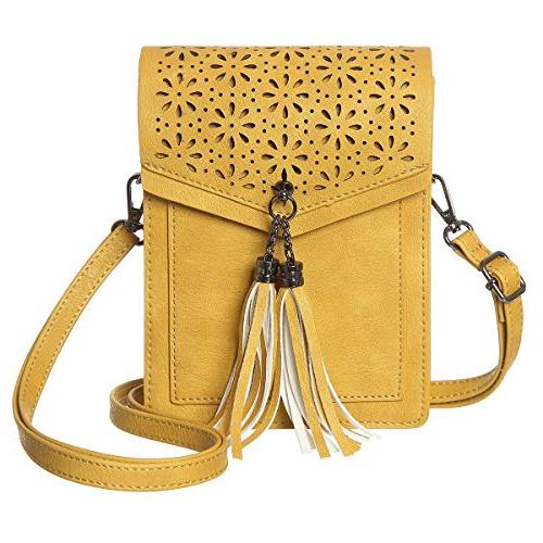 fringe thicher pocket small crossbody bags cell