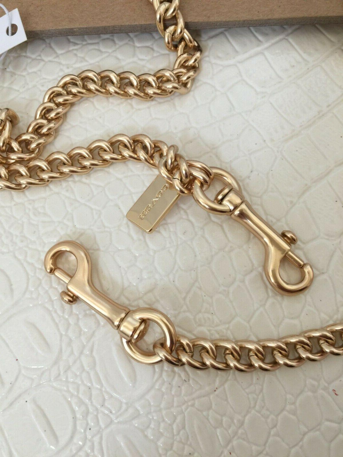 """COACH 46"""" Crossbody Chain Replacement Strap"""