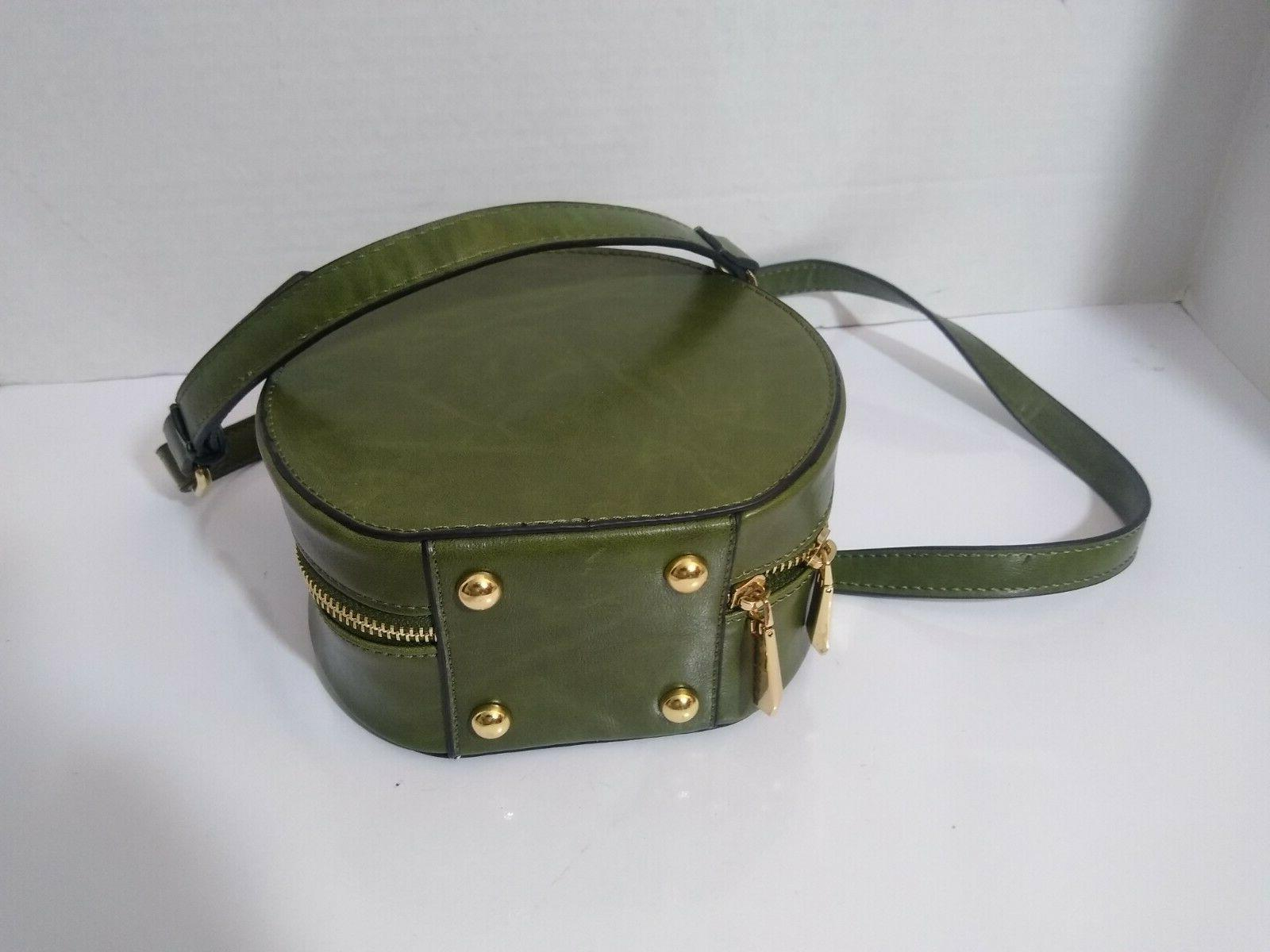 ISABELLE Green Crossbody