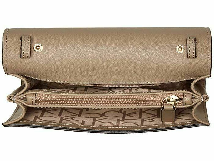 Calvin Monogram Over Small Crossbody Bag