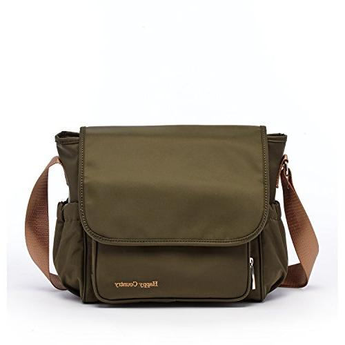 hc army green diaper bag