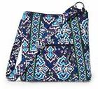 Vera Bradley Ink Blue LG HIPSTER Crossbody Purse Bag $60 NWT