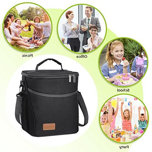 Lifewit Insulated Lunch Lunch for Adults Men Soft Cooler Leakproof Work/School/Picnic,