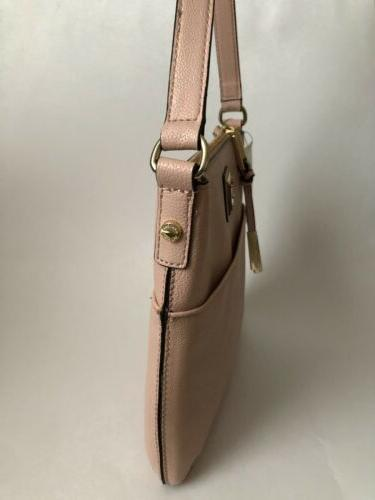 CALVIN Leather Small Crossbody Bag