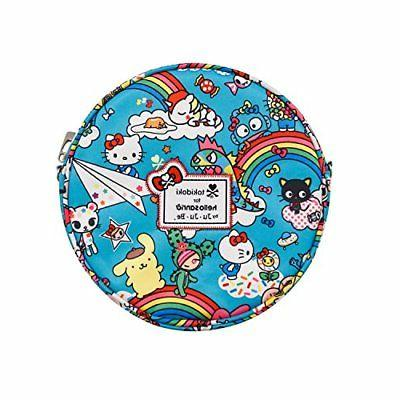 Ju-Ju-Be Tokidoki Collection Be Bop Circle Purse, Rainbow Dr