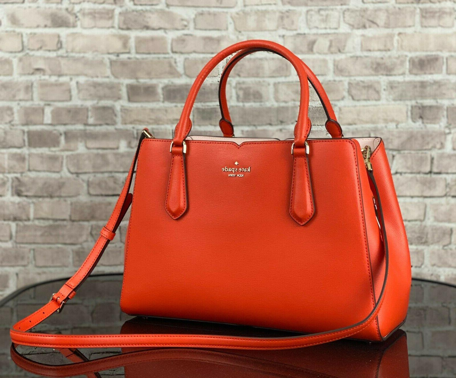 KATE SPADE TIPPY MEDIUM TRIPLE COMPARTMENT SATCHEL CROSSBODY