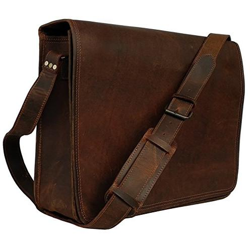 leather vintage rustic crossbody messenger