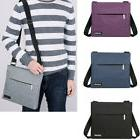 Mens Fashion Shoulder Cross-body Messenger Bag Handbag Zip B