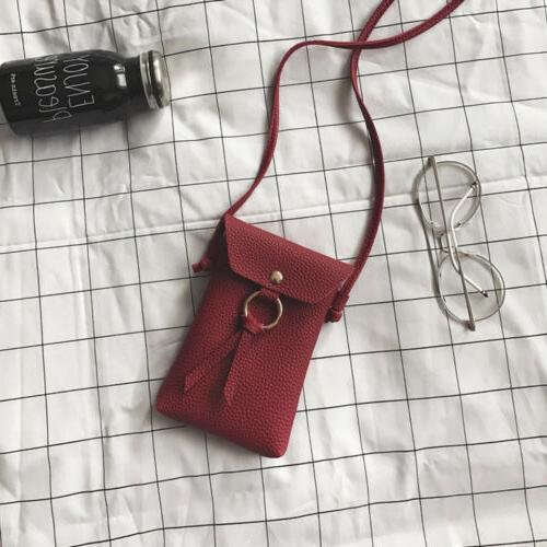 Mini Leather Crossbody Bag Bag Wallet Purse Pouch