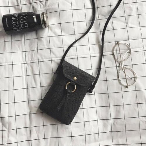 Mini Leather Coin Bag Wallet