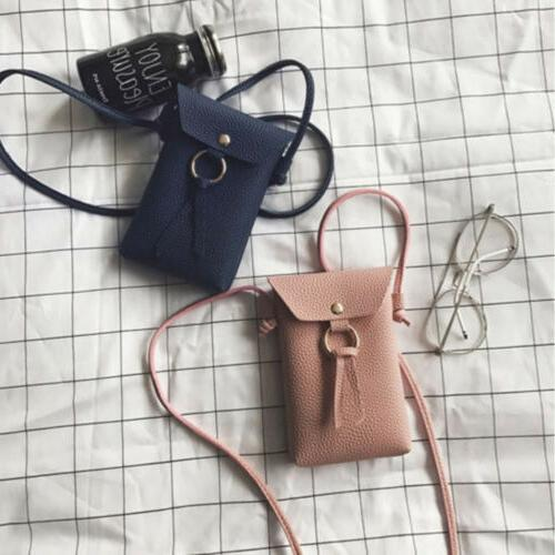 Mini Leather Bag Wallet Purse Cell Pouch