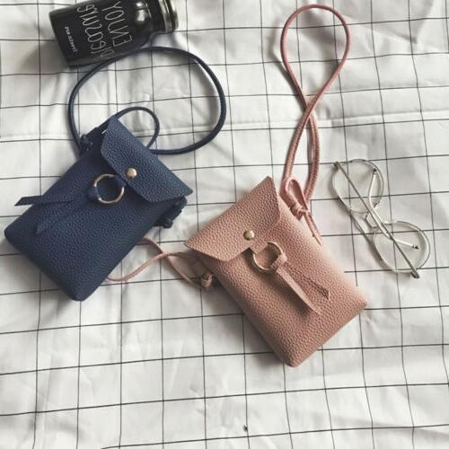 Mini Coin Crossbody Bag Small Wallet Phone Pouch