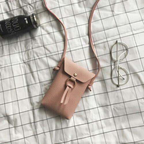 Mini Leather Bag Wallet Purse Phone Pouch