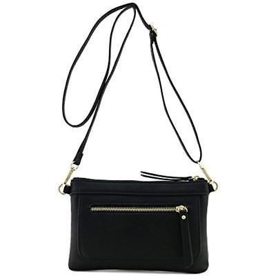 multi functional wristlet clutch and crossbody bag