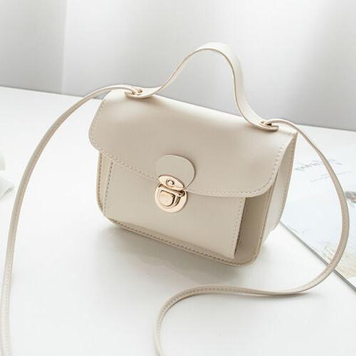 New Women Small Shoulder Bag Crossbody Handbag PU