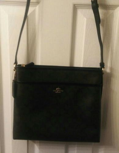 NWT Coach Crossbody File Bag