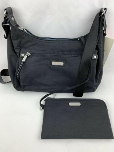 nwt black out and about crossbody bag