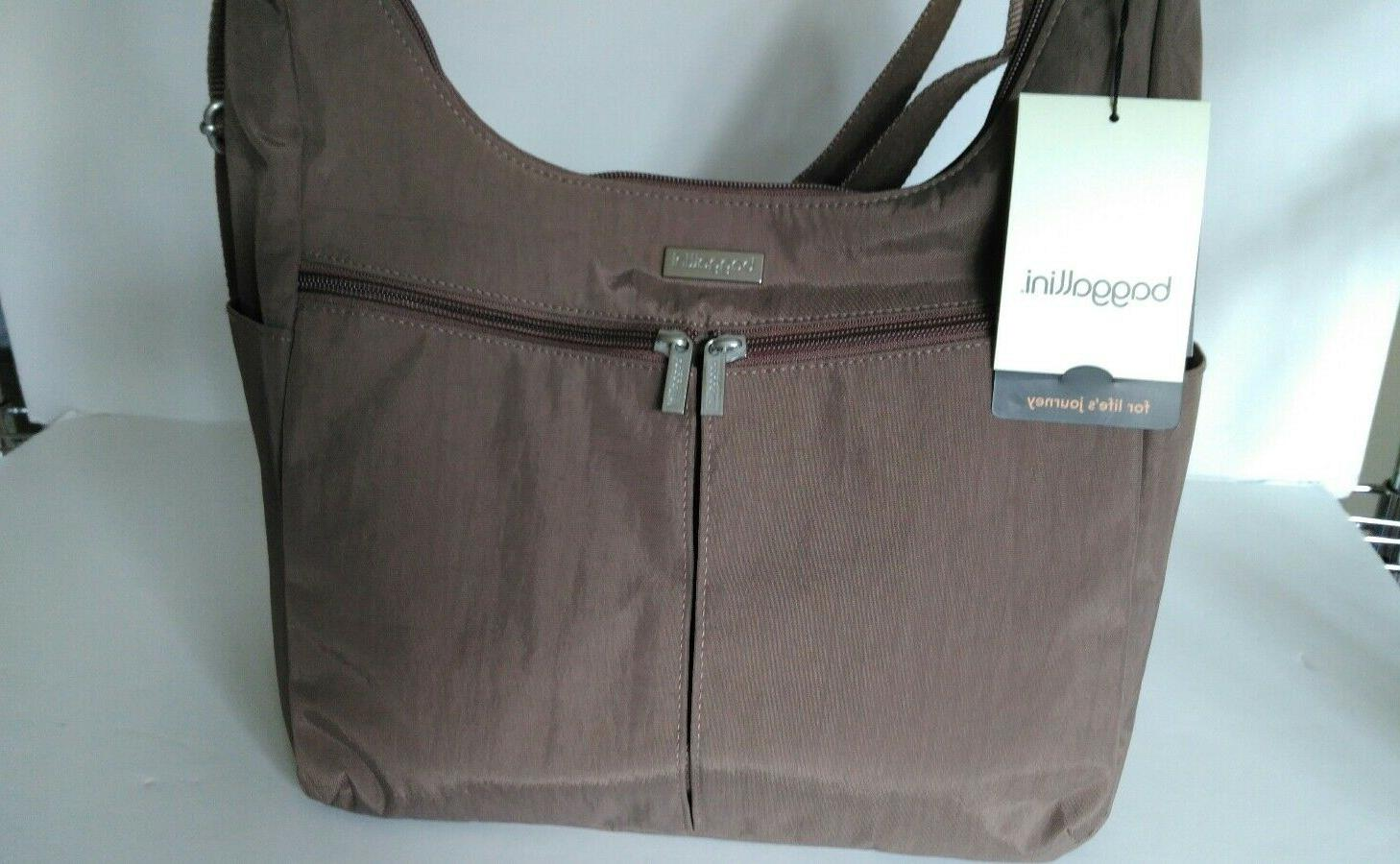 nwt cargo hobo tote bag brown