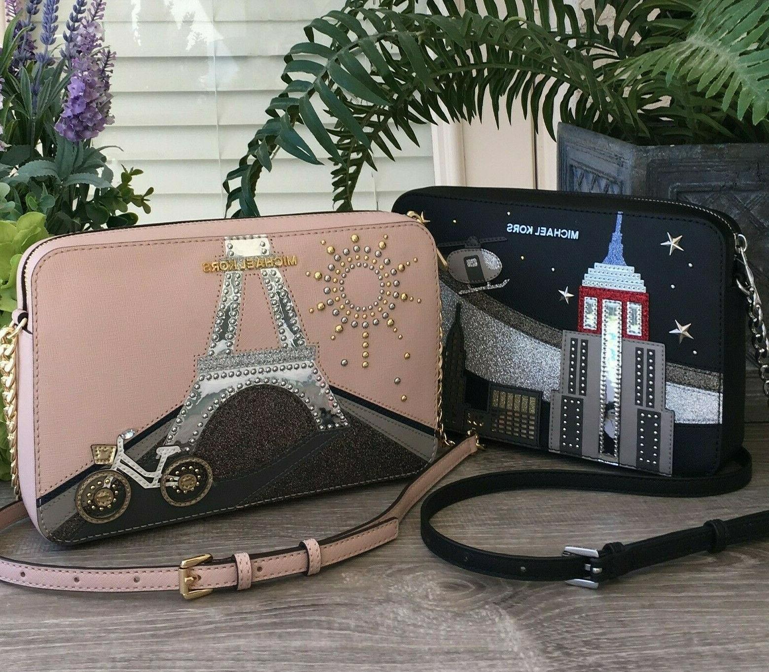 Michael Large SET Crossbody Leather