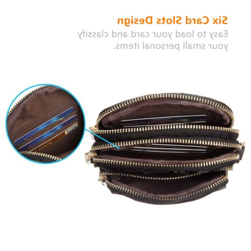 MINICAT Nylon Cell Purse Bag