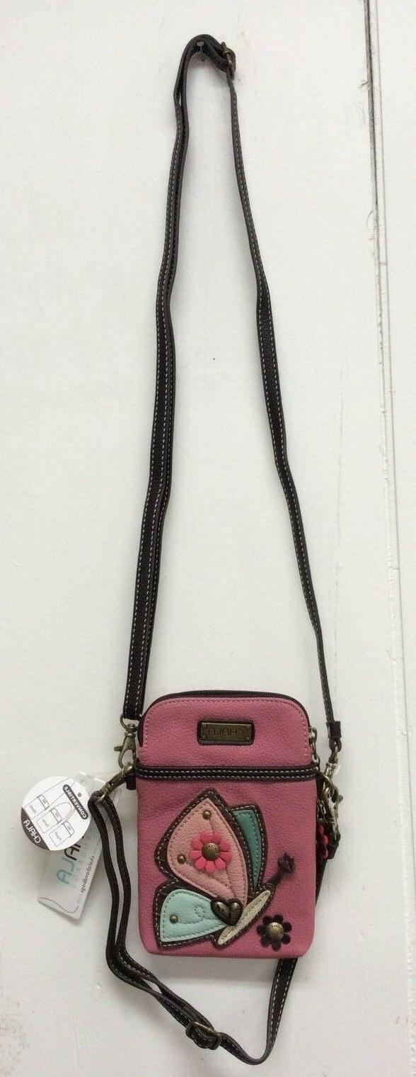 Chala Butterfly Phone Crossbody Convertible Purse