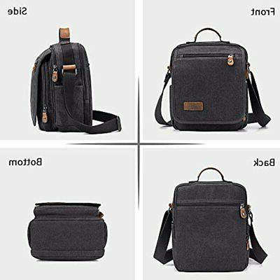 Plambag Canvas Small School Fit Gray