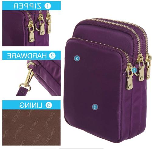 MINICAT RFID Small Crossbody Bag